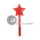 38cm rood glowstick ster