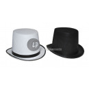 top hat Felt h16cm white