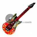inflatable guitar flames 1m