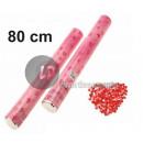 bomb confetti popper love hearts 80cm