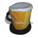 hat beer mug