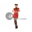 wholesale Costume Fashion: Chinese costume  red & xl size patterns