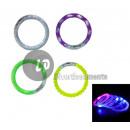grossiste Bijoux & Montres: bracelet lumineux  led multicolore bulles ou croisi