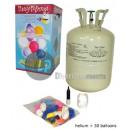 Kanister-Set mit  0.25m3 von Heliumballons und 30