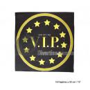 VIP batch of 16 paper napkins 33cm