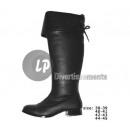 hurtownia Akcesoria obuwnicze: Para butów rozmiar 40-41 koronki CZARNY
