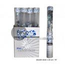 bomb confetti popper transparent 40cm silver p