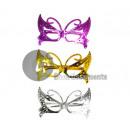 wholesale Glasses: metallized plastic  glasses gag papillon mix