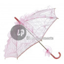 wholesale Costume Fashion:pink lace parasol
