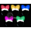 wholesale Toys: bright green bow  tie with teddy head half