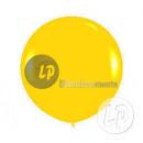 giant balloon 90cm YELLOW