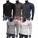 Men's Knitted Sweater Long Sleeve Shirts Tops
