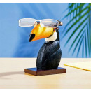 wholesale Figures & Sculptures: Eyeglasses spectacle holder Tucan Dekofigur