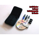 CD marker set with cleaner bag +