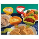 Dip Clips Set of 4 bowls for dips, ketchup, Sos