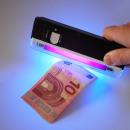 Großhandel Taschenlampen: Gelscheinprüfer geldscheinprüfgerät mit LED Tasche