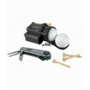 Golf multitool incl. 2 golf balls, 4 tees and mini