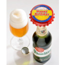 Botella Kronkorkenöffner Happy Birthday