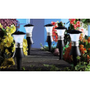 Set of 3 LED  garden lanterns as table lanterns