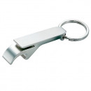 grossiste Porte-cles: Bouteille chromé  Opener Keychain Full Metal