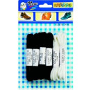 wholesale Shoe Accessories: Laces Set of 6  black 2x 2x 2x brown white