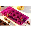 wholesale Casserole Dishes and Baking Molds: Silikonbackform  Pralinenform Minicake Silikonf