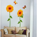Wall Stickers Wall Decal sunflower XXL