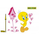 grossiste Stickers mureaux: Decal Tweety Maxi  Wall Sticker Wall Decal à 9