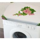 Großhandel Wäsche:Waschmaschinenbezug 60x60cm Rosenmotiv