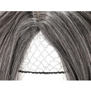 Perruque Cheveux Longs Bouclés Gris Blond Ombre 70