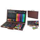 wholesale Painting Supplies: Malset Koffer Mega-Set 81 Items in suitcase Artist