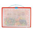 Mosaik Steckspiel 300 Bunte Stecker Koffer 28,7x