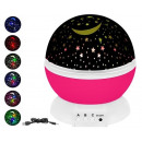Rotating Night Lamp Sky Star Projector 360st 8974