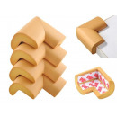 FOAM PROTECTORS • 4 pieces • brown • waterproof an
