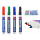 wholesale Gifts & Stationery: Set Of Whiteboard Markers 4pcs