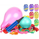 Birthday Balloons Colorful Metallic Set x 120 8868