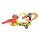 Dinosaur launcher track + 2 cars