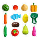 Wooden Vegetable Fruit Chopping Magnet XXL 9430