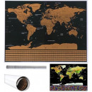 World Map Scratch Card for Traveler Flags Gift 940