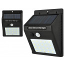 groothandel Home & Living: Solar Light 20 LEDs Motion Sensor Buitenlamp Wal