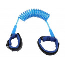 Safety Leash for Children Blue Strong Velcro wrist