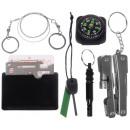 ingrosso Articoli da Regalo & Cartoleria: Survival Kit 7in1 Emergency Self Help Box Set with