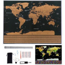 wholesale Other: World Map Scratch Card for Traveler Flags Accessor