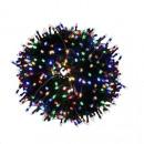 Luces para árboles de Navidad 300 LED multicolor L