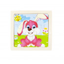 Wooden jigsaw puzzle 4 pieces U10973
