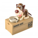 Dog Money Box Puppy Coin Bank Munching Toy Coin Ba