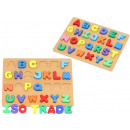 wholesale Toys: Wooden Alphabet Puzzle Complete ABC Certified Educ