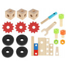 Workshop Wooden Box + Tools Blocks 9358