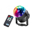 Großhandel Home & Living: Disco Ball LED Disco Laser Ball + Fernbedienung #