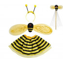 Ladybug Fancy Dress Costume Outfit 4-piece Set Col